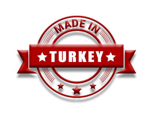 Made in TURKEY, %100 Türk Mühendisliği