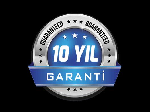10 Yıl Garanti ile Güvendesiniz